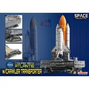 Dragon Models Space Shuttle Atlantis with Crawler Space Transporter Kit 1:400 Scale