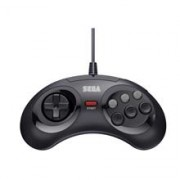 Controller Retro Bit SEGA MD Mini 6 B USB Black PC
