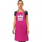 Shoppartners Keuken prinses keukenschort roze dames - Action products