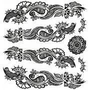 Tatuaj temporar -Mandale- 24X22cm