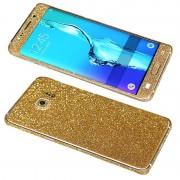 Folie Autoadeziva Samsung Galaxy Samsung S7 Fullset Gold Glitter