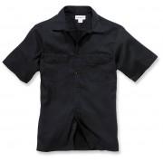Carhartt Twill Work Camisa de manga corta Negro M