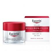 Eucerin Hyaluron-Filler + Volume-Lift Creme Dia Pele Seca 50ml