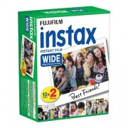 Fujifilm Fuji Instax Wide 20 Film 200 210 300 500AF Instant Photo Caméra