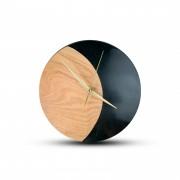 TIMMER wood decor Smaragd - Živicové drevené hodiny