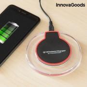 Incarcator wireless InnovaGoods Gadget Tech, wireless Qi, cablu microusb inclus