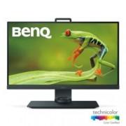 """Монитор BenQ SW271, 27"""" (68.58 cm) IPS панел, 4K Ultra HD, 5ms, 350 cd/m², DisplayPort, HDMI, USB, черен"""