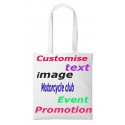 1-Personalised nutshell tote bag canvas shoulder shopping promotional bag
