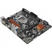 ASRock H110M HDV Intel 1151 Scheda Madre, Nero