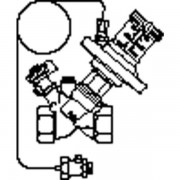 Oventrop Hydromat Drukverschilregelaar DTR 3/4 DN20 25 70 KPA Kvs = 50 m3/h binnendraad 1064706