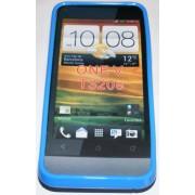 Силиконов гръб ТПУ за HTC One V Син