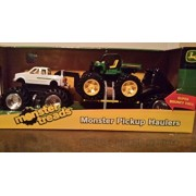 John Deere 5 Inch Monster Treads Pick Up Hauler with Horse and Trailer