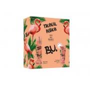 B.U. Tropical Passion - body mist 200 ml + lăptișor de corp 50 ml