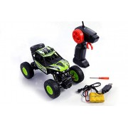 Tiny's World Rock Crawler 1:18 Scale 4Wd 2.4 Ghz 4X4 Rally Racing Car Remote Control Mini Rocking Car