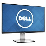Dell U2715H 27 quot;, IPS, QHD, 2560 x 1440 pikslit, 16:9, 8 ms, 350 cd/m#178;, must