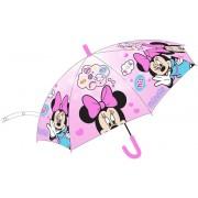 Umbrela automata, Minnie Mouse, Smile, roz
