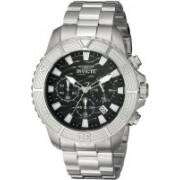 Invicta black8149 Invicta Men's 'Pro Diver' Quartz Stainless Steel Casual Watch, Color:Silver-Toned (Model: 23998) Watch - For Men