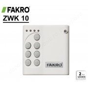 Comutator de perete multi-canal wireless Fakro ZWK10