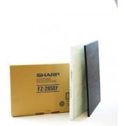 Sharp HEPA/ koolstof filter set FZ-28SEF voor Sharp FU-28HS luchtreiniger.