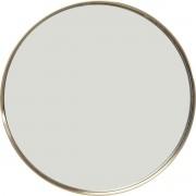 Kare Design Curve Spiegel Rond -Ø60cm - Messing