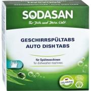 Tablete pentru masina de spalat vase, ecologice, 25 buc x 25 gr Sodasan
