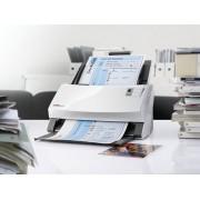 Plustek SmartOffice PS456U :: 600 dpi скенер, duplex 80ppm/160ipm, 100 sheets ADF, ултразвукова misfeed детекция, ID Cards scanning