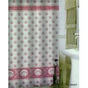 Zasłonka łazienkowa TXT 180x200 Tahiti Różowa