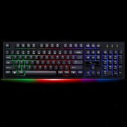 ZGB G20 104 Keys USB Wired Mechanical RGB Backlight Computer Keyboard Gaming Keyboard(Black)