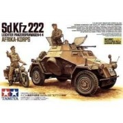 Tamiya Model do sklejania Sdkfz 222 Africa Corps - Tamiya 35286