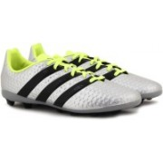 ADIDAS ACE 16.4 FXG J FOOTBALL/SOCCER For Men(Silver)