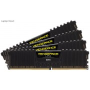 Corsair Vengeance Lpx 32Gb(8Gb x 4) DDR4-3200 (pc4-25600) CL16 1.35v Desktop Memory Module with Black low-profile heatsink