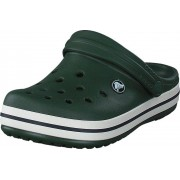 Crocs Crocband Clog Kids Forest Green/Stucco, Skor, Sandaler & Tofflor, Foppatofflor, Lila, Grå, Barn, 19