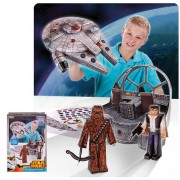 Set od papira Blueprints Star wars brod falcon, Smile Factory 12905