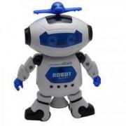 Robot cu sunete si lumini danseaza elice care se roteste