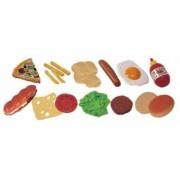 Jucarii Fast-Food Miniland 19 buc