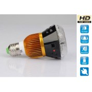Spy HD kamera v žárovce + IR + detekce pohybu + sound control