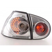FK-Automotive fanale posteriore a LED per VW Golf 5 (tipo 1K) anno di costr. 2003-2008, cromato