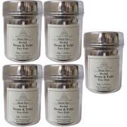 Khadi Pure Herbal Neem Tulsi Face Pack - 50g (Set of 5)