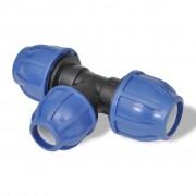 vidaXL PEM-koppling T-rör reducering 16 bar 32 till 25mm 2-pack