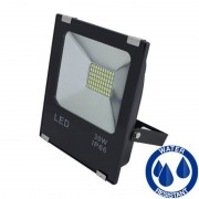 MasterLed - Projetor LED quadrado 30W PLANO - MasterLed