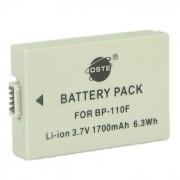 Bateria totalmente descifrada DSTE BP-110 para camaras de video HF R26 R28 R206 HF R20? R21 R200 de Canon