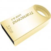 USB-ključ 32 GB Transcend JetFlash® 710G zlatne boje TS32GJF710G USB 3.0
