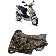 De Autocare Premium Quality Junglee Matty Two Wheeler Scooty Body Cover For Hero Electric-e-sprint