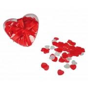 Geen Hartjes bad confetti 20 gram in hartjes doosje