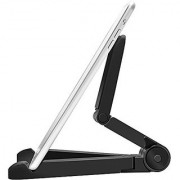 Aeoss Apple Ipad Stand Multi-Angle 180 Degree Mount Fold-Up Stand Cradle Holder Bracket Mount For Tab 7-10Tab (Blac