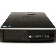 Calculator HP 6200 Pro SFF Intel Core i5-2400 3.40 GHz 4 GB DDR3 250 GB HDD + Windows 10 Professional Refurbished