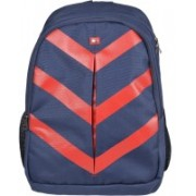 Tommy Hilfiger Biker Club Delta 15.8 L Medium Laptop Backpack(Blue, Red)