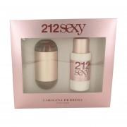 Carolina Herrera - 212 Sexy Caixa De Presente Ou Kit 100 ML Eau De Toilette Spray + 100 ML Loção Para O Corpo - Para Mujer