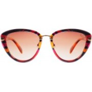 Slaughter & Fox Cat-eye Sunglasses(Red)