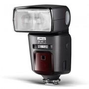 Metz Mecablitz 64 AF-1 Digital Flash per Nikon, Modo I-TTL/I-TTL BL, Manuale ed Automatico, Presa Syncro, NG 64 con ISO 100/21� da 24 a 200mm, Slave/Master, Nero
